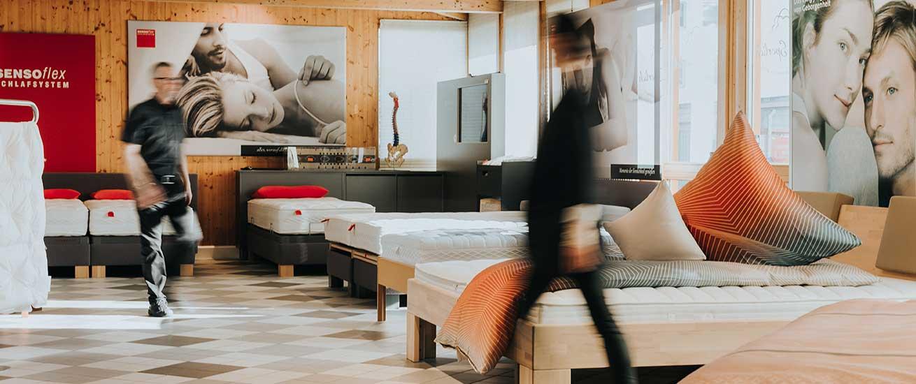 Matratzen, Lattenroste und Unterfederungen | Betten Sperlich
